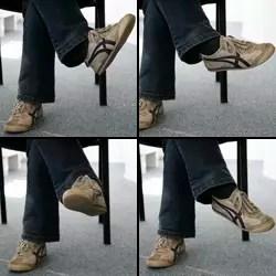 faites tourner votre pied.