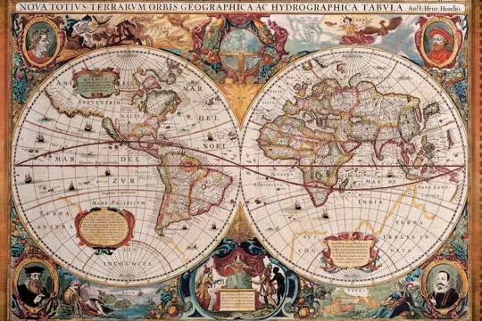 Belles et surprenantes cartes du monde