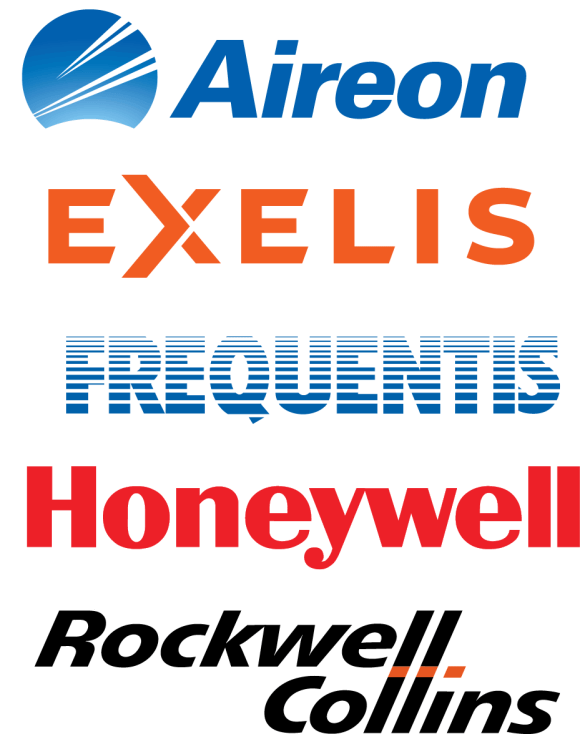 Aireon, Exelis, Frequentis, Honeywell, Rockwell Collins
