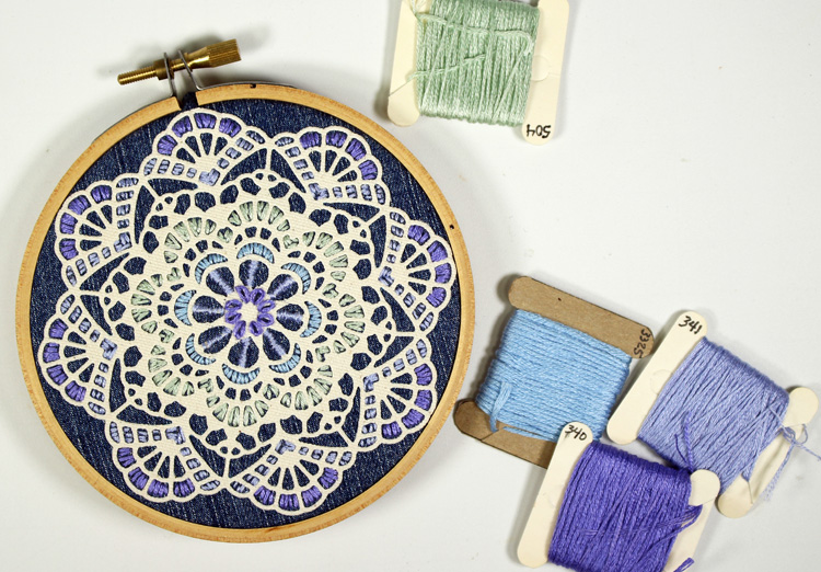 Doily Embroidery
