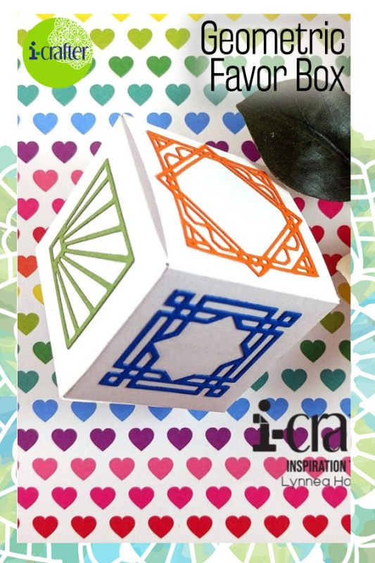 i-crafter Geometric Favor Box