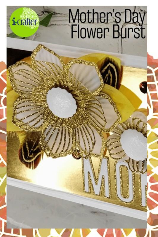 i-crafter Flower Bursts