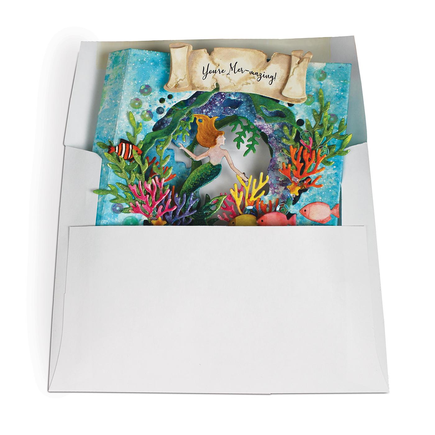 Tunnel Card, Mermaid