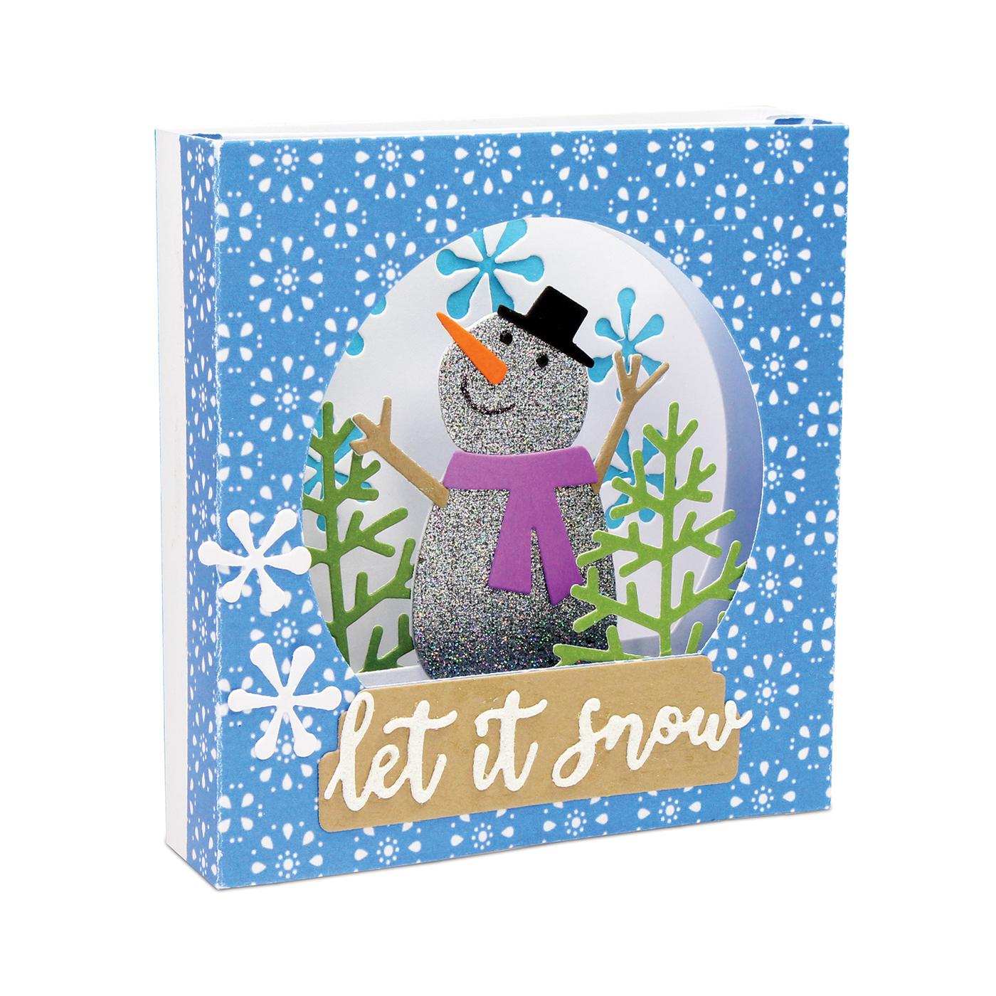 Tunnel Card, Snow Globe