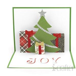 Christmas Tree Scene Pop up