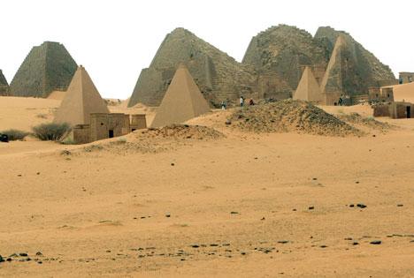 Forgotten Tourist Destinations Meroe Sudan