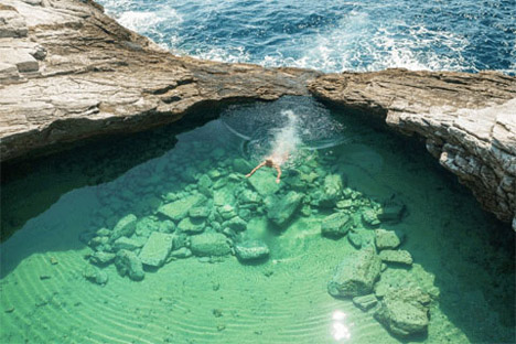 Amazing Pool Greece