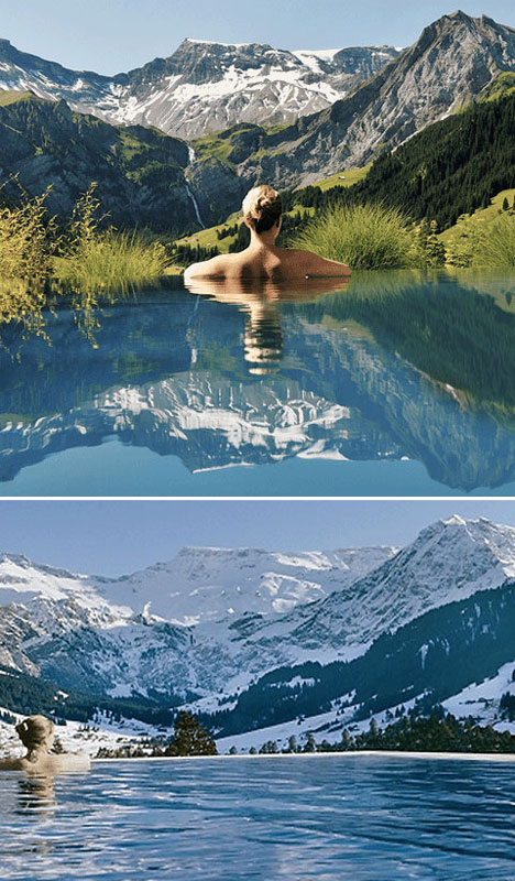 6 Amazing Pools Switzerland