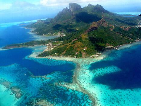 top 10 islands world bora bora St Etienne