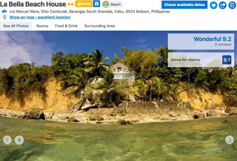 Top 10 Islands World Cebu La-Bella-Beach-House