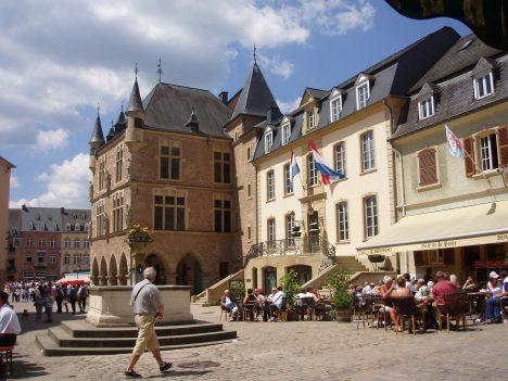 Hidden tourist spot Echternach