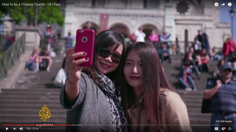 Short Documentary about Chinese Tourists
