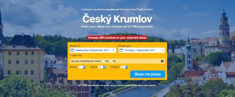 Check out Hotels and Guesthouses in the Cesky Krumlov Region