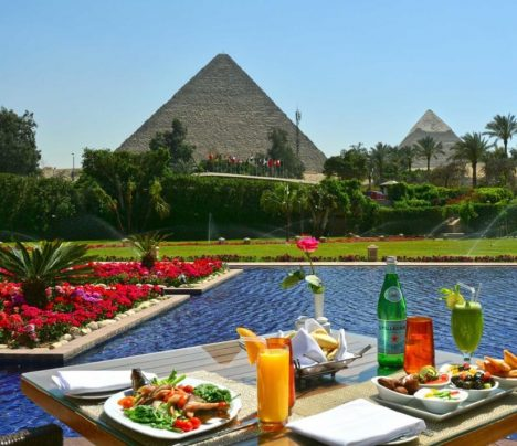 Mena House Oberoi, disappointing travel destination Pyramids Giza