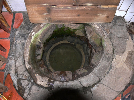 tulou concealed ancient chinese fortress Yuchanglo tulou: water well