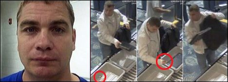 Back in 2012: Ivan Ramos steals the Rolex a passenger left behind at baggage screening, Police charged Ramos with one count of grand theft after a surveillance video of him looking around, then taking the watch, and casually walking away made him an instant international TV celebrity.