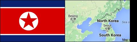 Countries avoid Asia North Korea