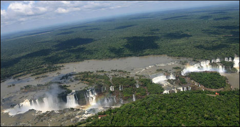 Top 10 Impressive Waterfalls Iguazu Falls in South America