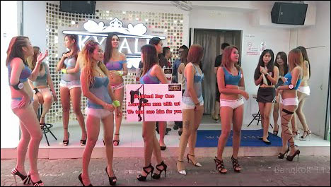 pattaya popular Walking Street prostitutes