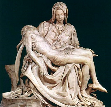 Top 10 Statues Worldwide Pieta