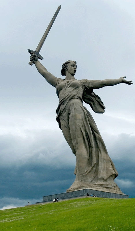 Top 10 Statues Worldwide Stalingrad Motherland Calls