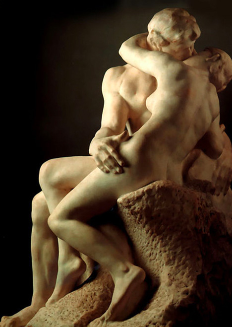 Top 10 Statues Worldwide Rodin The Kiss