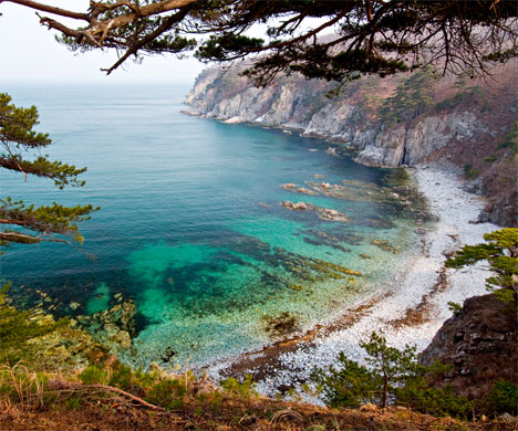 7 tourist destinations avoid Vladivostok beautiful tiny bay