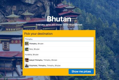 Bhutan last frontier book hotel thimphu