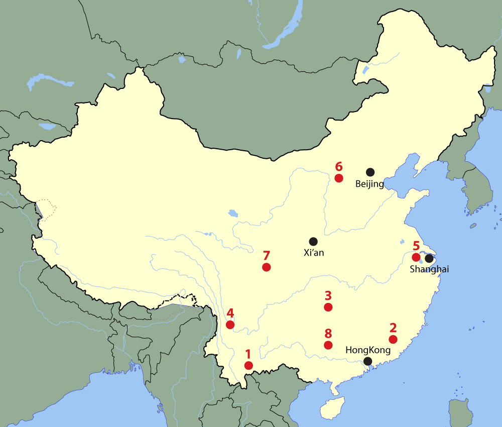 China hidden tourist spots