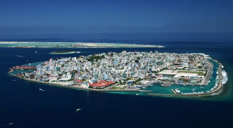 Disappointing travel destination Male Maldives
