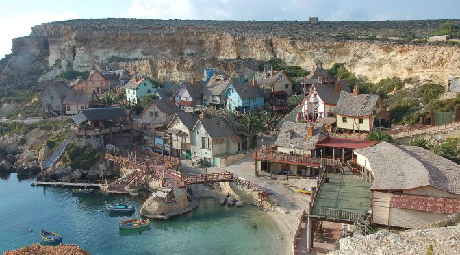 Underrated tourist spots Popeye village Malta