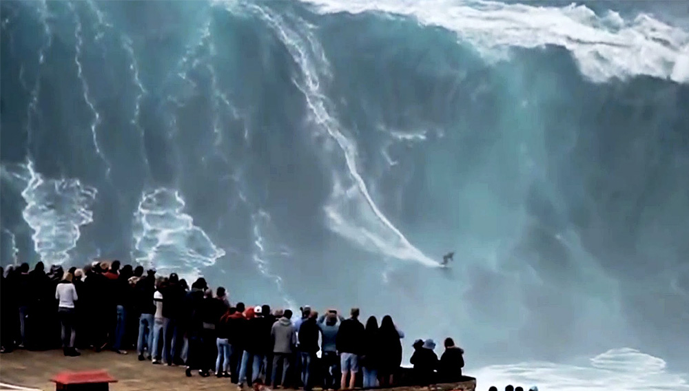 Riding Giant Waves