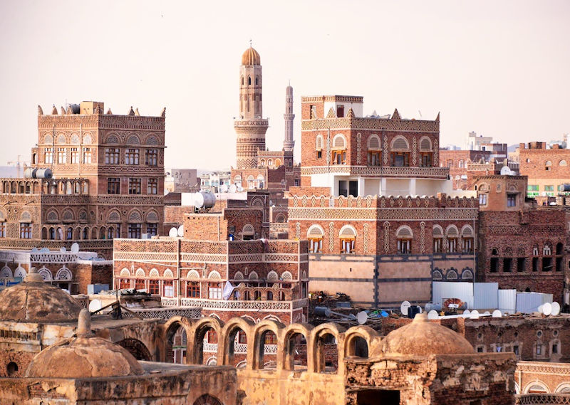 Old Sanaa, UNECSO World Heritage Site since 1986. Credit: