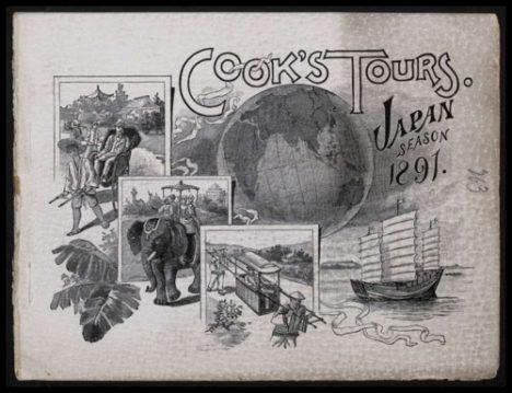 History of Tourism Thomas Cook Tours 1891 Japan
