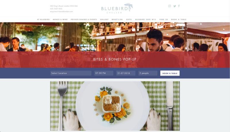 chelsea dog restaurant