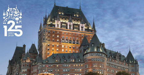 hotel frontenac quebec city