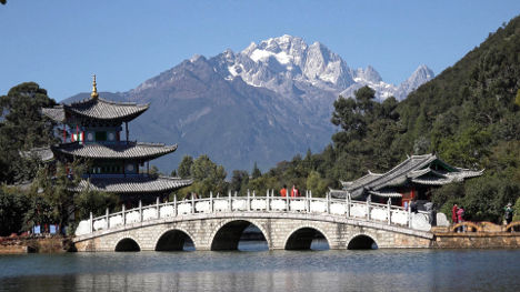 China hidden tourist spot: Lijiang old town