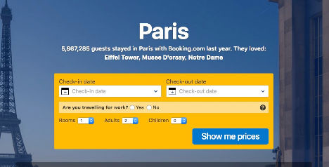 Paris 50 minutes | Book a hotel here.