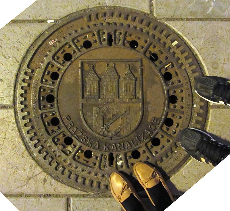 Prague Manhole