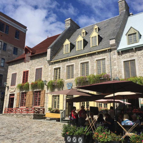 Old Quebec is as close as you can to Europe in the Americas. Photo: Booking.com
