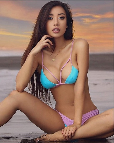 Russian Beach Beauty