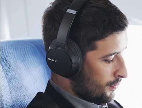 wireless noise canceling headphones sony