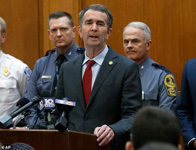 23451728 7892085 image m 2 1579127006546 The Governor of Virginia Ralph Northam has declared a state of emergency and has declared a ban on guns in a push that is having a major blowback