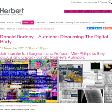 Donald Rodney – Autoicon: Discussing The Digital Body