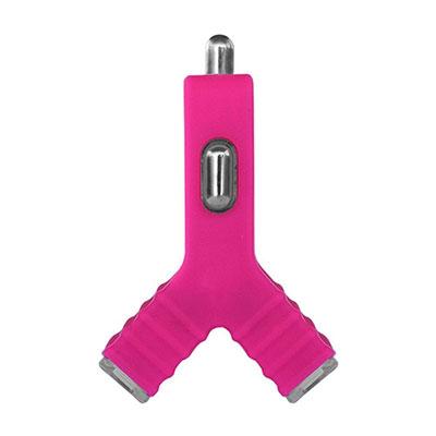 Carregador Veicular Y Candywirez com 2 Saídas USB