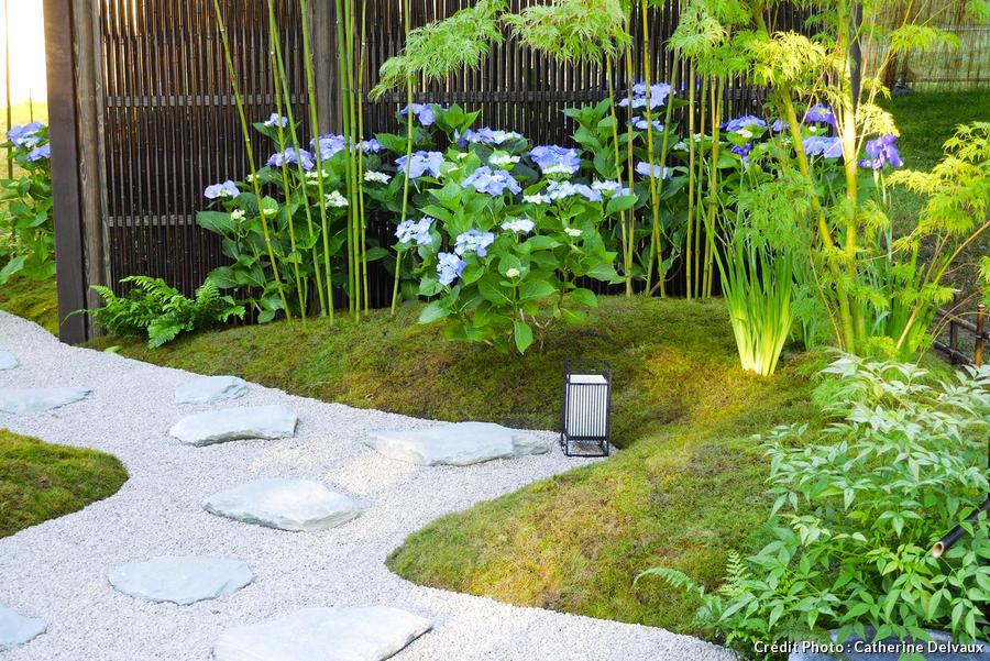 un jardin zen inspire des temples