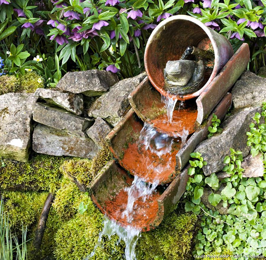 fontaines pour votre jardin