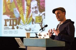 Brett Gaylor (Mozilla) speaking at i-Docs 2012