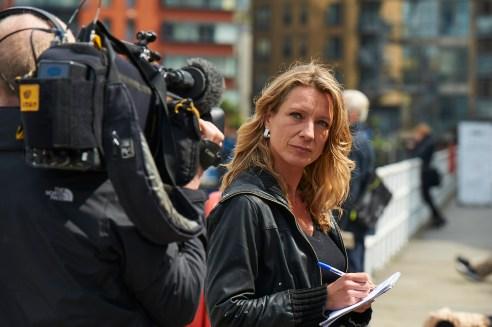 Juliana Ruhfus - senior reporter for Al Jazeera's People & Power strand