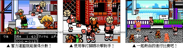 熱血籃球 - 遊戲天堂